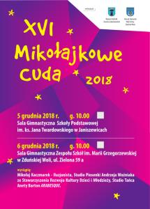 Plakat Mikołajkowe Cuda 2018
